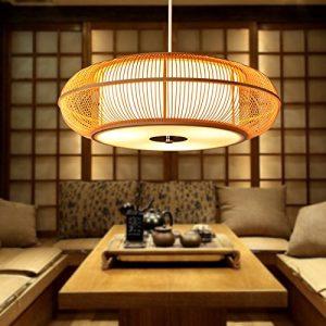 Lámpara de techo japonesa