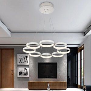 Lámpara de techo redonda minimalista