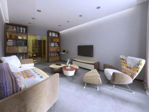 Consejos para disimular los techos bajos