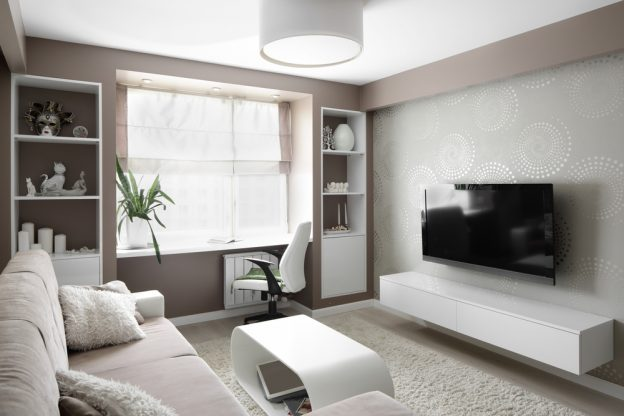 Consejos para iluminar un salón con techos bajos | Lámparas de techo ...
