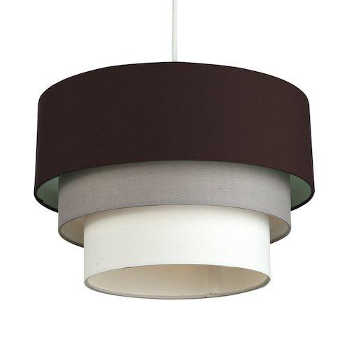 Lámpara de techo colgante redonda a 3 niveles
