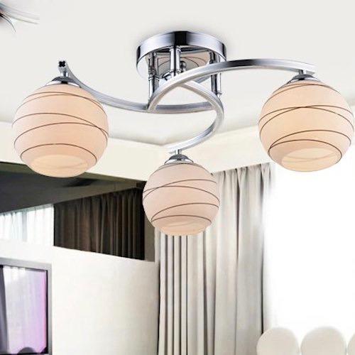 Lámpara de techo salón moderno