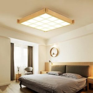Lámparas de techo modernas estilo japonés