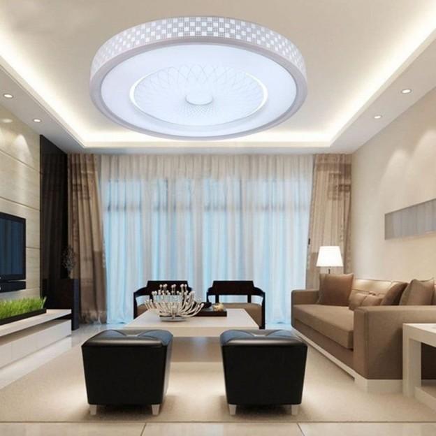 L mpara de techo moderna minimalista l mparas de techo modernas - Lamparas para salones ...