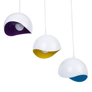 Lámparas de techo modernas blancas