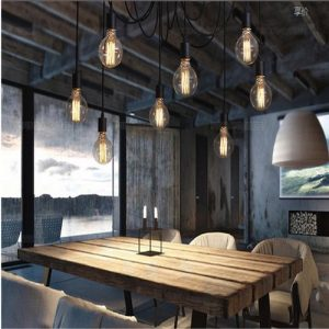 Lámpara de techo Vendimia múltiple