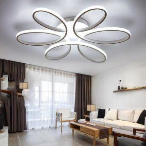 Lámpara de techo LED romántica