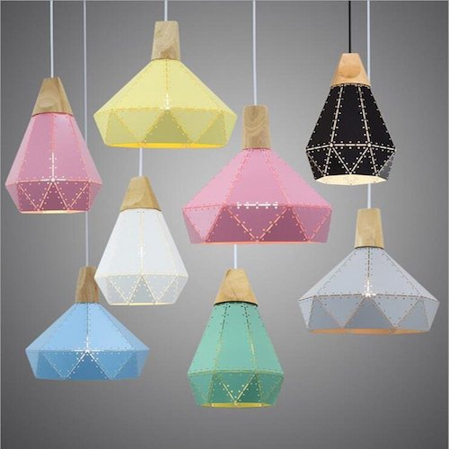 Lámpara de techo estilo nórdico