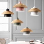 Lámpara de techo colgante minimalista