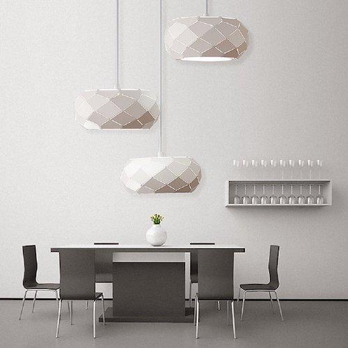 lmparas de techo moderna blancas - Lamparas Modernas De Techo