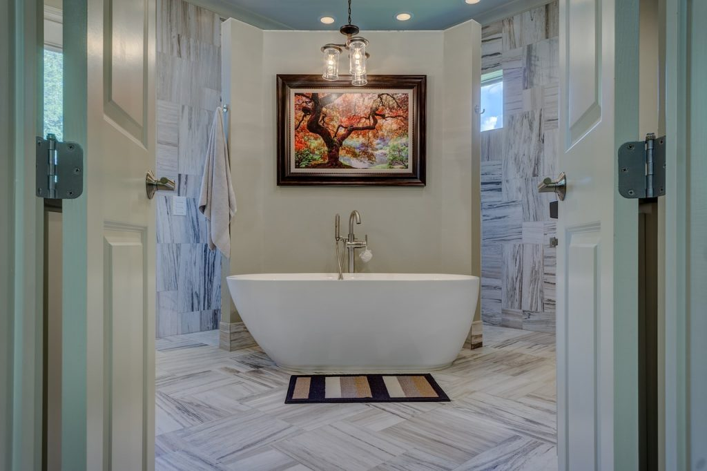cuadro para baño
