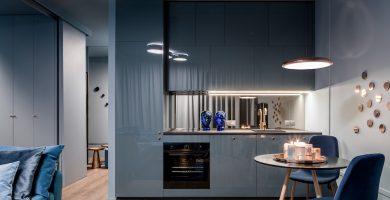 Como iluminar una cocina pequeña